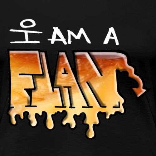 I Am a Flan - T-shirt Premium Femme