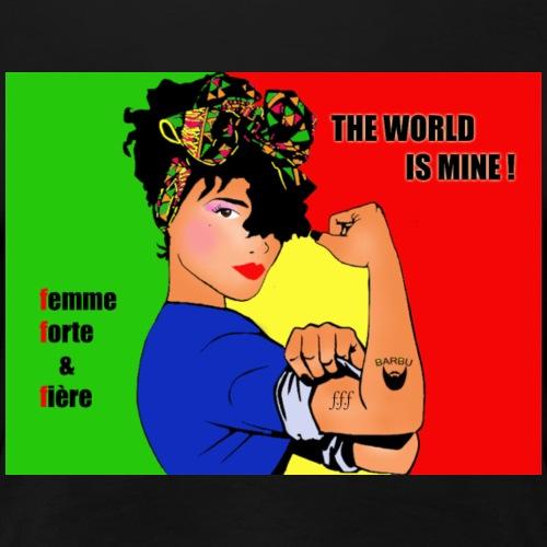 FFF strong & proud woman - Women's Premium T-Shirt