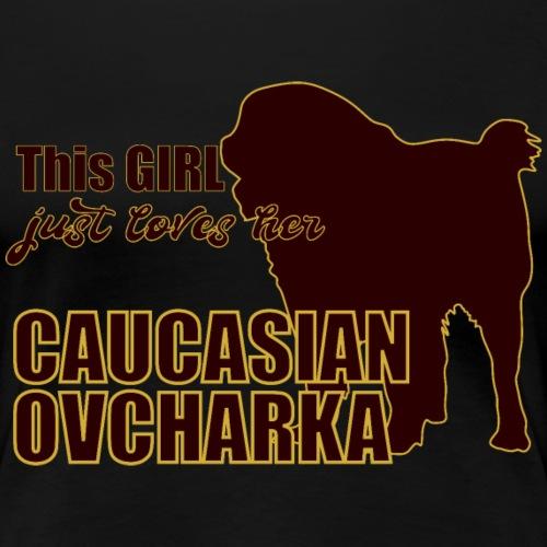 Ovcharka T-Shirt Caucasian Ovcharka - Frauen Premium T-Shirt