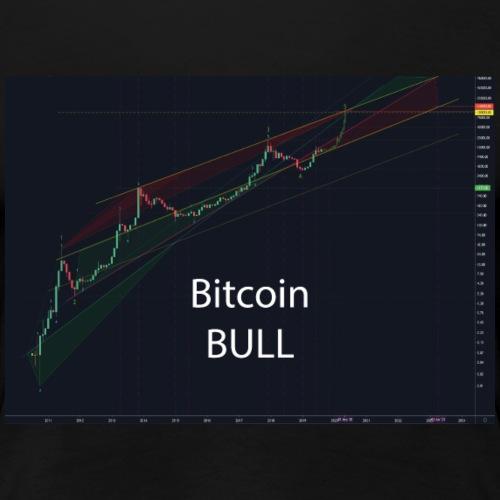 Bitcoin Bull - Frauen Premium T-Shirt