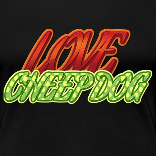 Love Cheep Dog - Frauen Premium T-Shirt