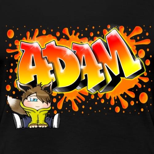 Graffiti Adam Splash - T-shirt Premium Femme
