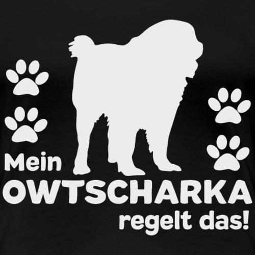 Owtscharka T-shirt Ovcharka Shirt - Frauen Premium T-Shirt