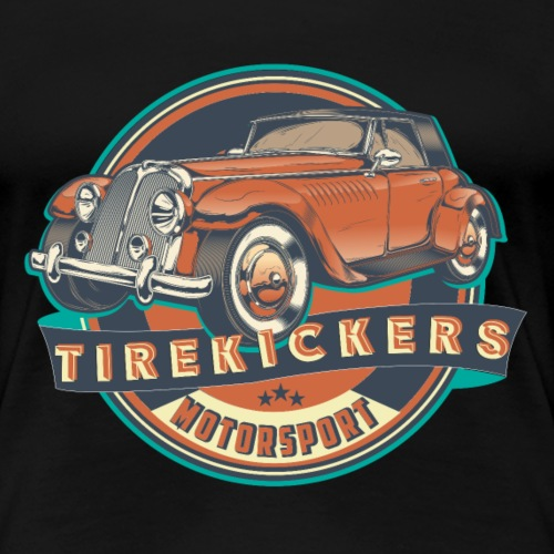 TIREKICKERS - V8 -Hotrod - Frauen Premium T-Shirt