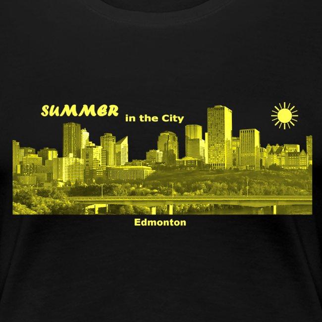 Summer City Edmonton Alberta Kanada