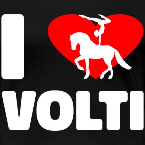 Volti Voltigieren Pferd Turnen Shirt - Frauen Premium T-Shirt