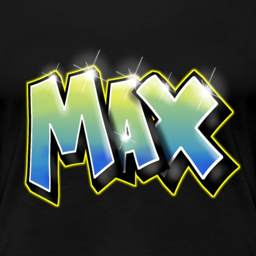 Graffiti Max - T-shirt Premium Femme