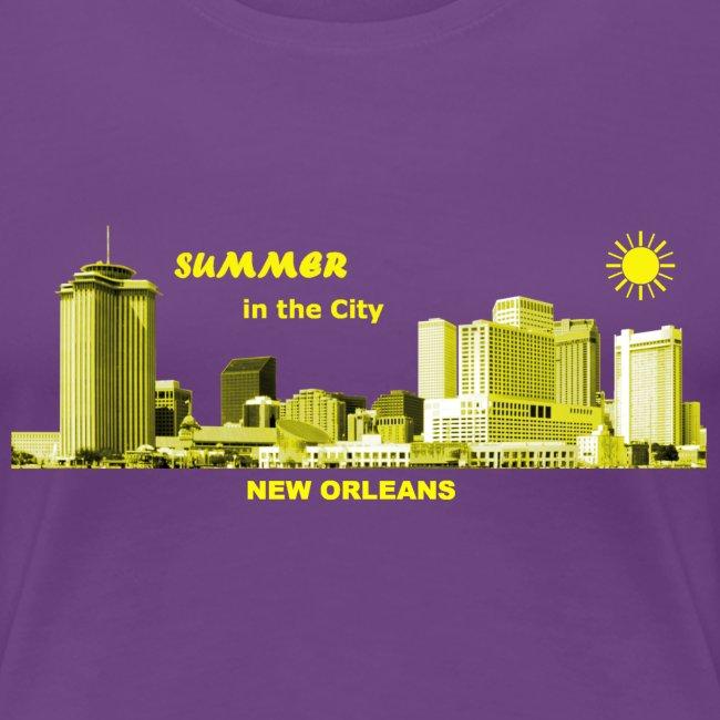 Summer New Orleans Louisiana City USA