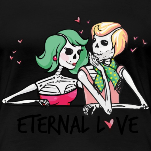 Endlose Liebe - Frauen Premium T-Shirt
