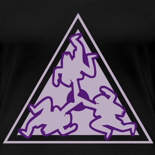 drei_nornen_neu - Frauen Premium T-Shirt