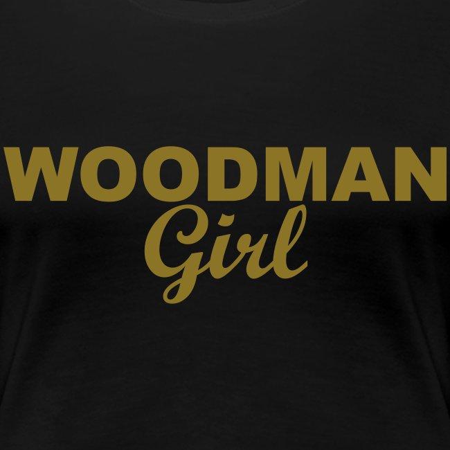 WOODMAN Girl, gold
