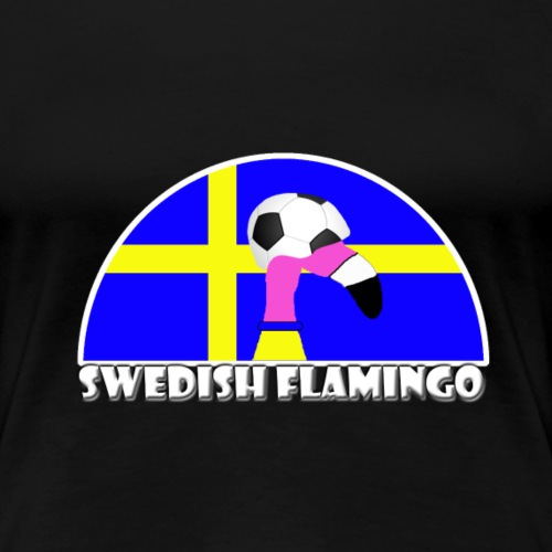 FF Schwedischer Fußball Flamingo Fan Shirt