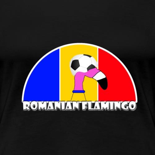 FF Rumänischer Fußball Flamingo Fan Shirt