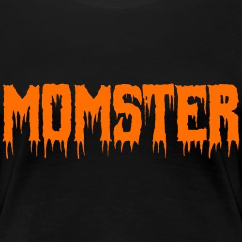 Momster Monster Halloween Mama Shirt Geschenk - Frauen Premium T-Shirt