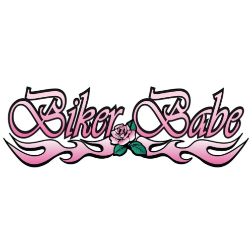 Biker Babe - Women's Premium T-Shirt