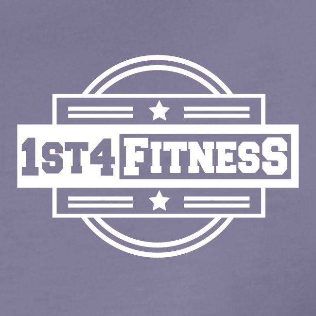 1st4Fitness White Back & Front