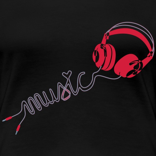 love music - Frauen Premium T-Shirt