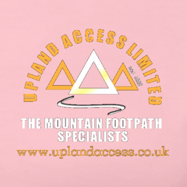 upland access ltd logo gold white