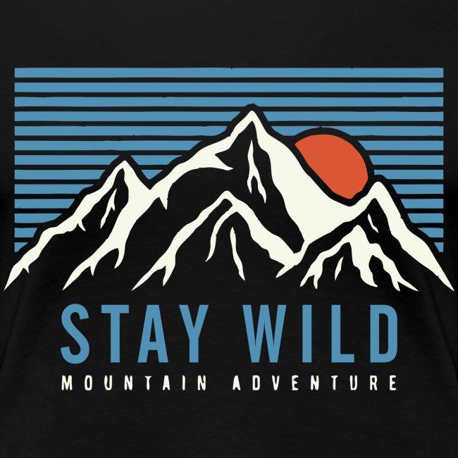 Berg bleiben wild