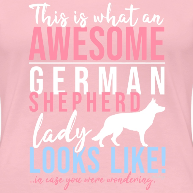 GSD Awesome Lady SH