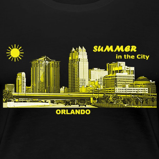 Orlando City Summer Florida Skyline