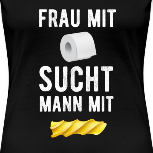 Corona Krise - Hamsterkauf - Klopapier - Nudel - Frauen Premium T-Shirt