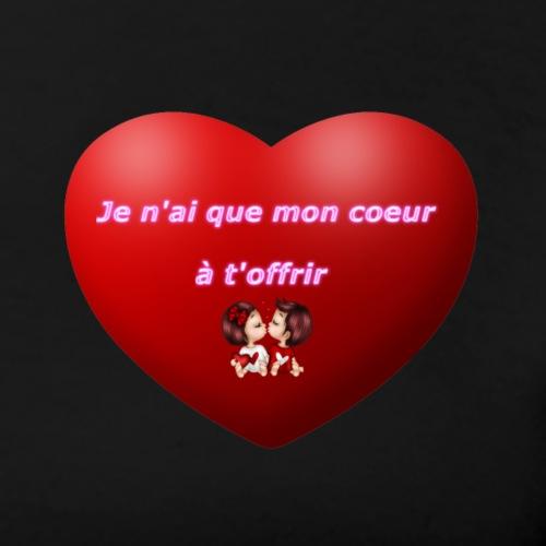 Mon Cœur Pour Toi - T-shirt Premium Femme