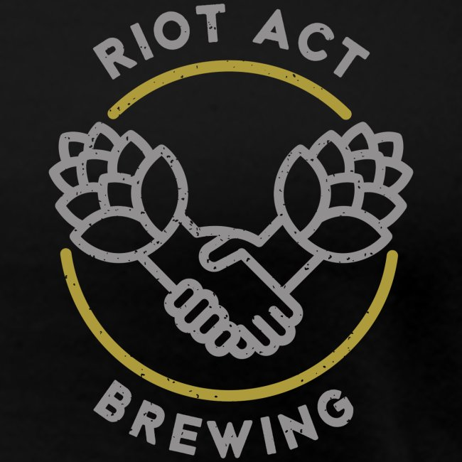 logo riot act brewing clean