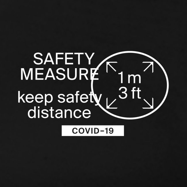 safety measure Classic Tee black