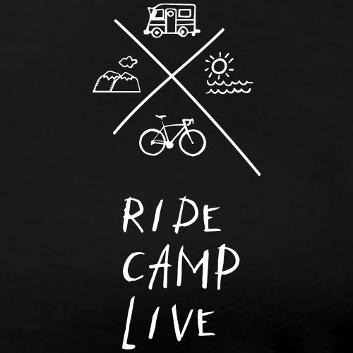 RIDE CAMP LIVE - Frauen Premium T-Shirt