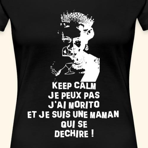 t shirt keep morito - T-shirt Premium Femme
