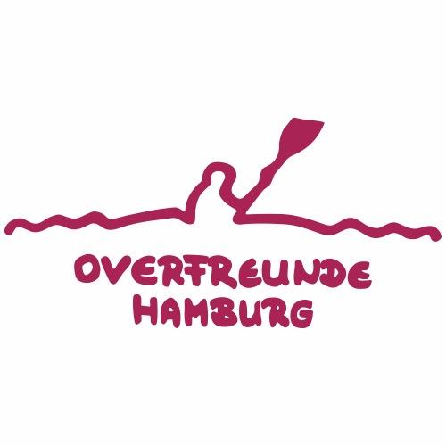 Logo OverfreundeHamburg Magenta   Klein - Frauen Premium T-Shirt
