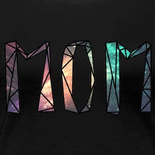 Space Mom Diamant - Frauen Premium T-Shirt