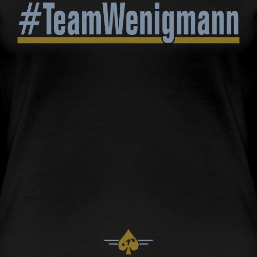 TeamWenigmann - Frauen Premium T-Shirt