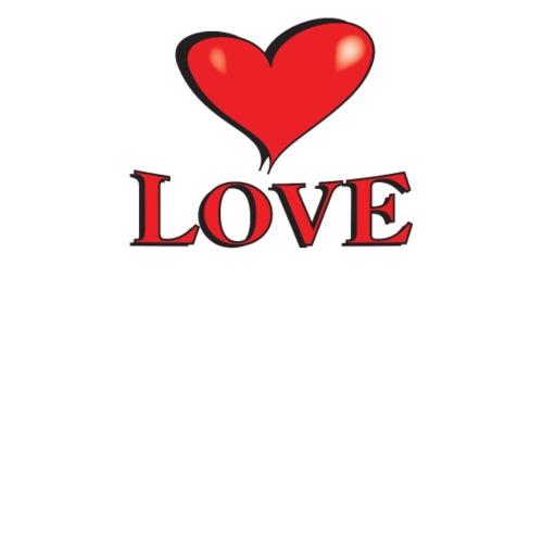LOVE - Kärlek, rött hjärta - The Lovin' Heartshop!