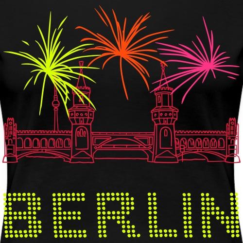 Oberbaumbrücke a Berlino - Maglietta Premium da donna