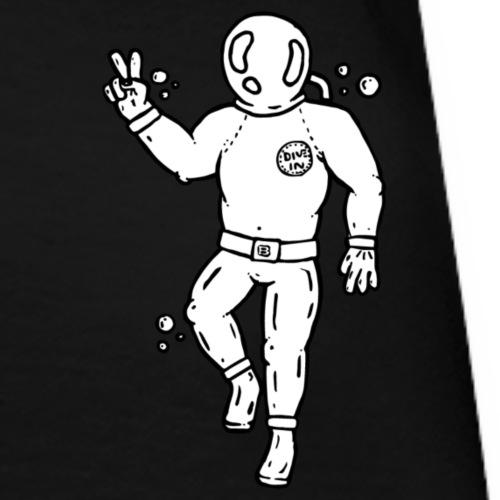 Dykker - Dame premium T-shirt