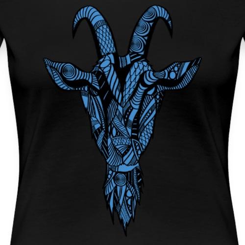 Geit - Premium T-skjorte for kvinner