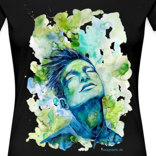 Dash by carographic - Frauen Premium T-Shirt