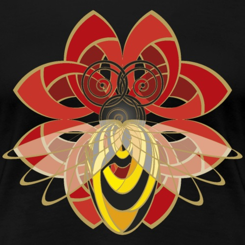 Celtic Bee - Women's Premium T-Shirt