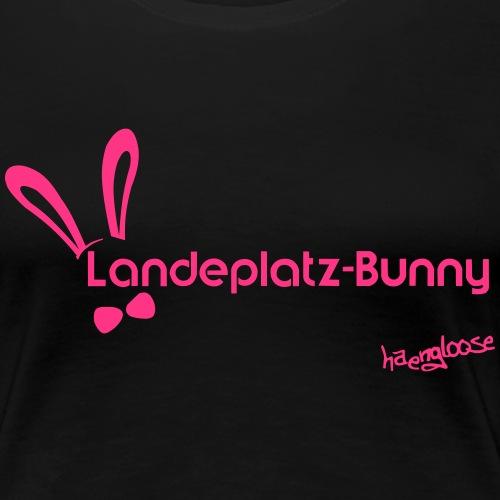 Landeplatz Bunny - Frauen Premium T-Shirt