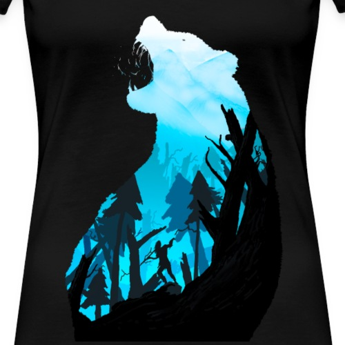 Horizon - Frauen Premium T-Shirt