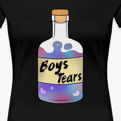 Boys Tears - Frauen Premium T-Shirt