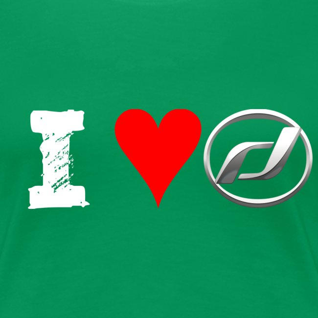 """""""I Love Daelim"""" TShirt (Daelim Logo, Männer)"""