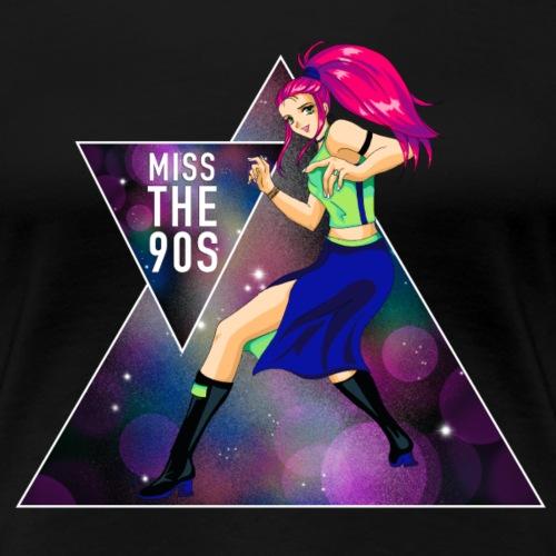 Miss the 90s - Frauen Premium T-Shirt