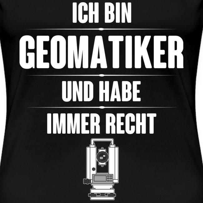 Geomatiker Recht Vermessungstechniker Theodoloit
