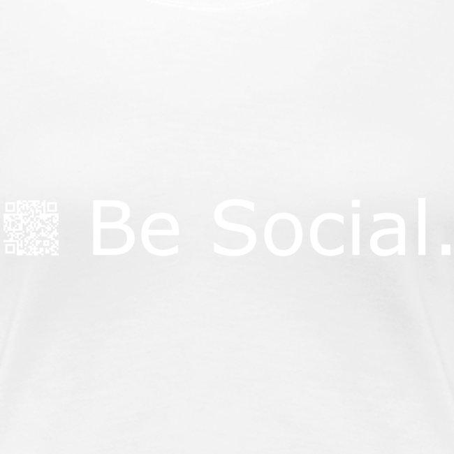 be social qr code liggend printwhite 20c