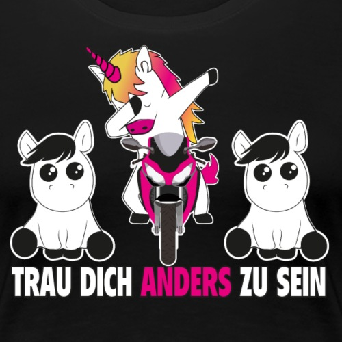 Einhorn Unicorn - Frauen Premium T-Shirt
