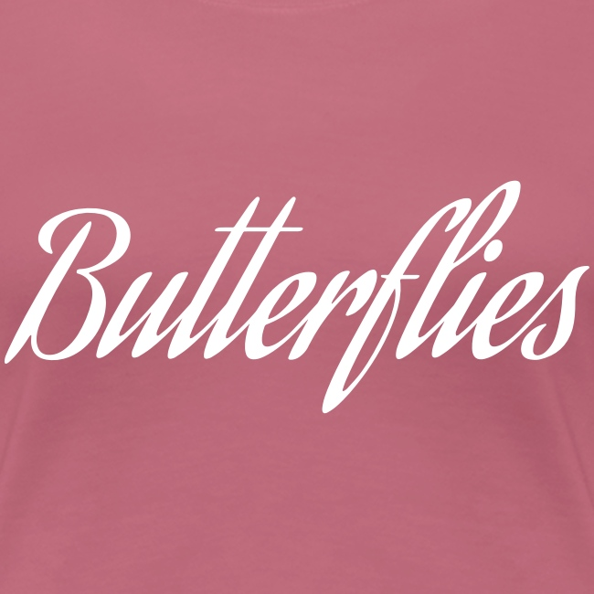 Butterflies Design - White
