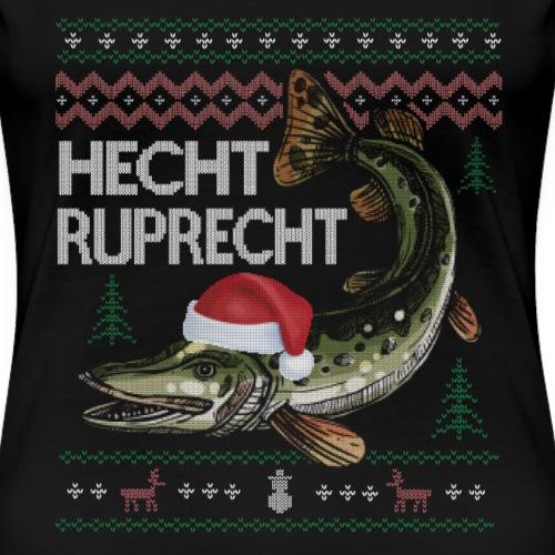 Hecht Ruprecht Ugly Hässlicher Pullover Sweater - Frauen Premium T-Shirt